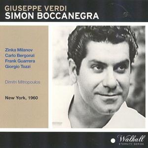Giuseppe Verdi : Simon Boccanegra (New York 1960)