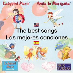 Las mejores canciones de Anita la Mariquita Español-Inglés