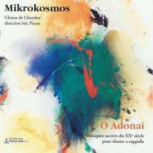 O Adonaï : Musiques sacrées du XXème siècle pour choeur a capella