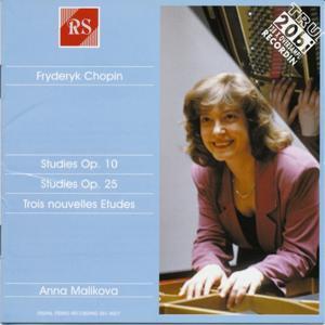 Fryderyk Chopin: Etudes, Op. 10 and 25 / Trois nouvelles études