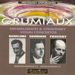 Mendelssohn & Stravinsky: Violin Concertos