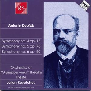 Antonín Dvořák : Symphonies 4-5-6