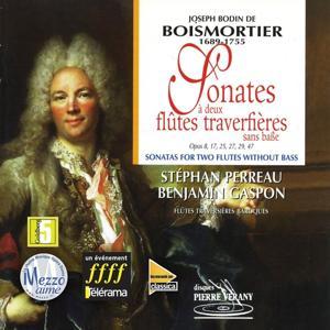 Boismortier : Sonates à deux flûtes traversières sans basse
