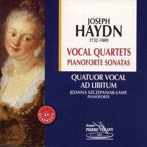 Haydn : Vocal quartets pianoforte sonatas