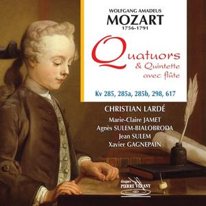 Mozart : Quatuor & quintette avec flûte