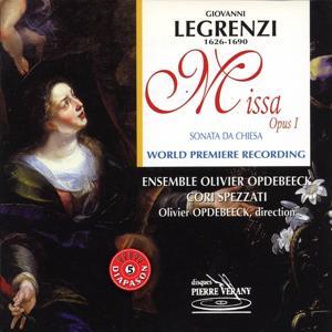 Legrenzi : Missa Opus 1 - Sonate d'église