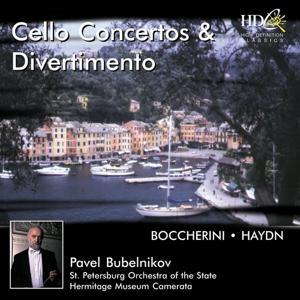 Boccherini, Haydn: Cello Concertos & Divertimento