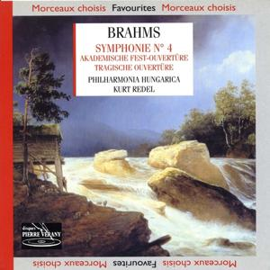 Brahms : Symphonie n°4  Akademische, Fest-Ouverture,  Tragische Ouverture