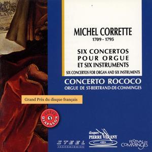Corrette : 6 concertos pour orgue & 6 instruments