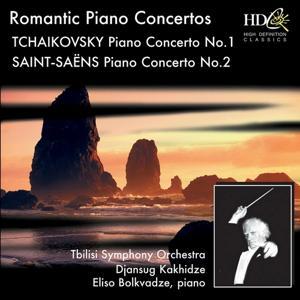 Great Romantic Piano Concertos (Tchaikovsky : Piano Concerto No.1 in B-Flat Minor, Op.23 ; Saint-Saëns : Piano Concerto No.2 in G Minor, Op.22)