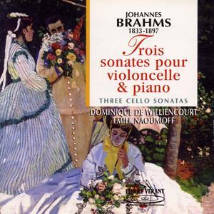 Brahms : 3 sonates pour violoncelle & piano