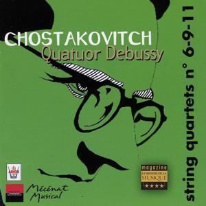 Chostakovitch : Quatuors à cordes No. 6, 9 & 11, vol.4