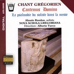 Cantemus domino : La psalmodie du soliste dans la messe