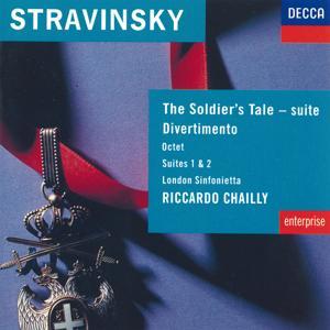 Stravinsky: The Soldier's Tale; Divertimento etc