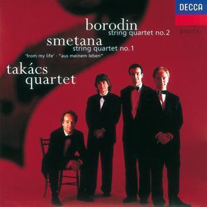 Borodin/Smetana: String Quartet No.2/String Quartet No.1
