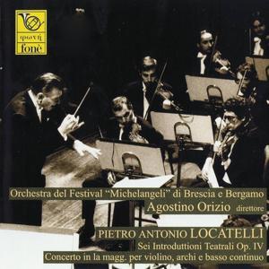 Pietro Antonio Locatelli: Sei introduttioni teatrali Op. IV, concerto in La maggiore