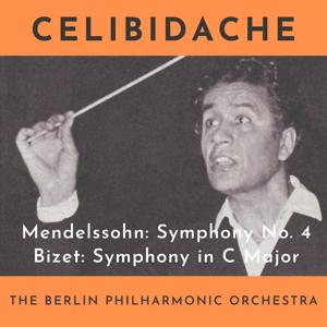 Mendelssohn: Symphony No. 4 Op.90 In A Major Italian - Bizet: Symphony in C Major (The Concert of November 9, 1953)