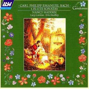 C.P.E. Bach: 5 Flute Sonatas
