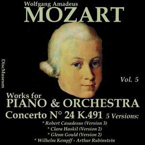 Mozart, Vol. 5 : Concertos K491