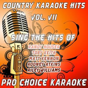 Country Karaoke Hits, Vol. 7 (The Greatest Country Karaoke Hits)