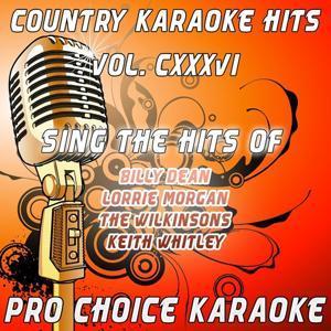 Country Karaoke Hits, Vol. 136 (The Greatest Country Karaoke Hits)