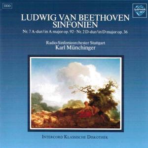 Beethoven: Symphonies No. 7 in A Major Op. 92 & No. 2 in D Major Op. 36