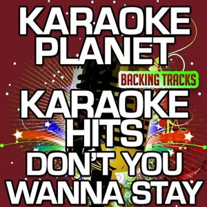 Don't You Wanna Stay (Karaoke Version) (Originally Performed By Jason Aldean & Kelly Clarkson)