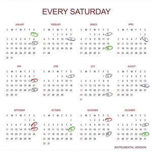 Every Saturday (Instrumental Version)
