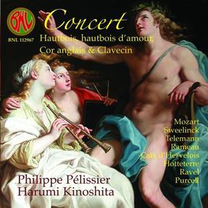Mozart: Concert Hautbois, hautbois d'amour, Cor anglais & Clavecin