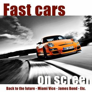Fast Cars On Screen
