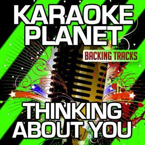 Thinking About You (Karaoke Version) (Originally Performed By Calvin Harris & Ayah Marar)