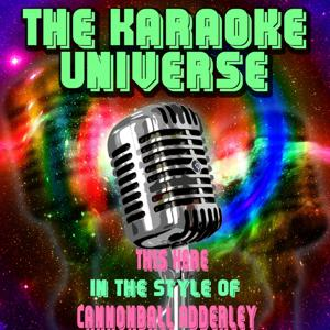 This Here (Karaoke Version) [in the Style of Cannonball Adderley]