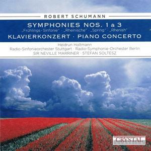 Schumann: Symphonies Nos. 1, 3 & Piano Concerto