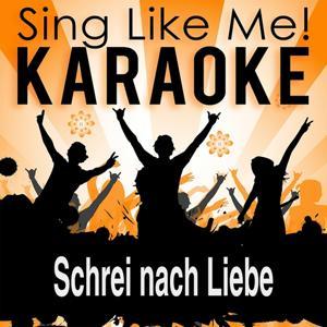 Schrei nach Liebe (Karaoke Version)