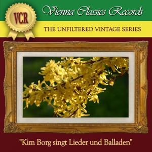 Kim Borg singt Lieder und Balladen