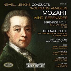Mozart: Wind Serenades No. 11, K. 375 & No. 12, K. 388