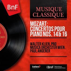 Mozart: Concertos pour piano Nos. 14 & 16 (Mono Version)