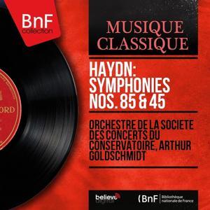 Haydn: Symphonies Nos. 85 & 45 (Mono Version)