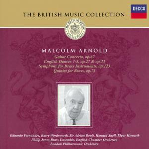 Arnold: Guitar Concerto; English Dances; Symphony for Brass, etc.