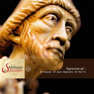 Abbaye solesmes-Sanctoral 1: St Joseph, St Jean-Baptiste, St Pierre