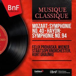 Mozart: Symphonie No. 40 - Haydn: Symphonie No. 94 (Mono Version)