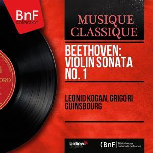 Beethoven: Violin Sonata No. 1 (Mono Version)