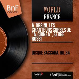 Disque baccara, no. 34 (Mono Version)