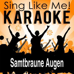 Samtbraune Augen (Karaoke Version)