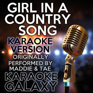 Girl in a Country Song (Karaoke Version)