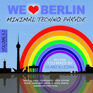 We Love Berlin 6.3 - Minimal Techno Parade (Incl. DJ Mix By Glanz & Ledwa)