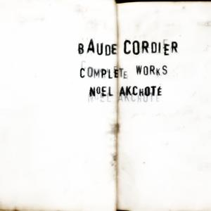Baude Cordier: Complete Works (Arr. for Guitar)