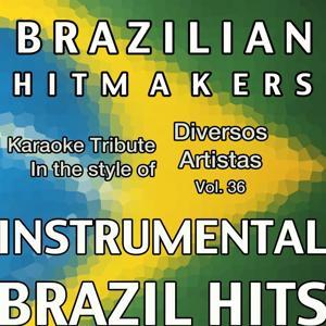 Playback ao Estilo de Diversos Artistas (Instrumental Karaoke Tracks) Vol.36