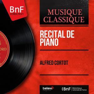 Récital de piano (Remastered, Mono Version)