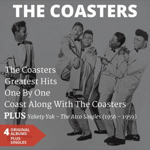 The Coasters (4 Original Albums Plus Singles)